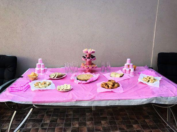 Mesa dulce cumpleaños perruno
