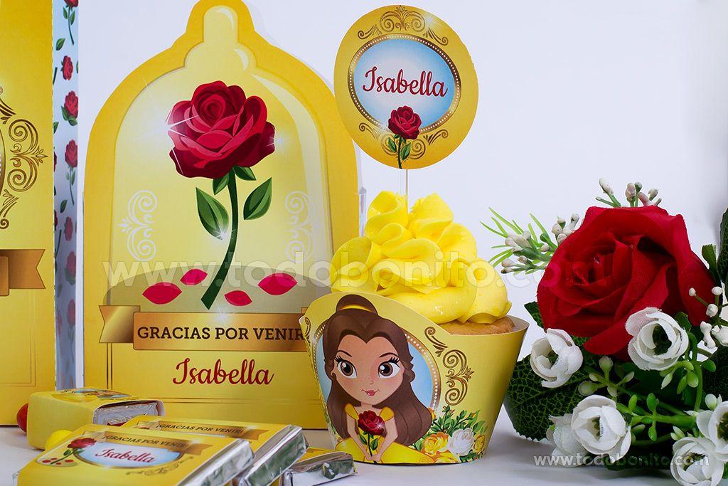 Kits Imprimibles de La Bella y La Bestia