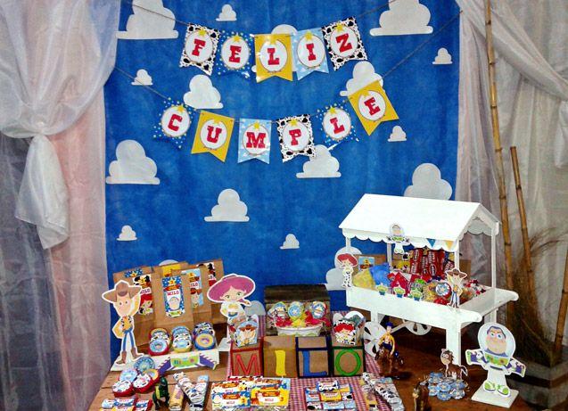Cumpleaños de Toy Story para imprimir