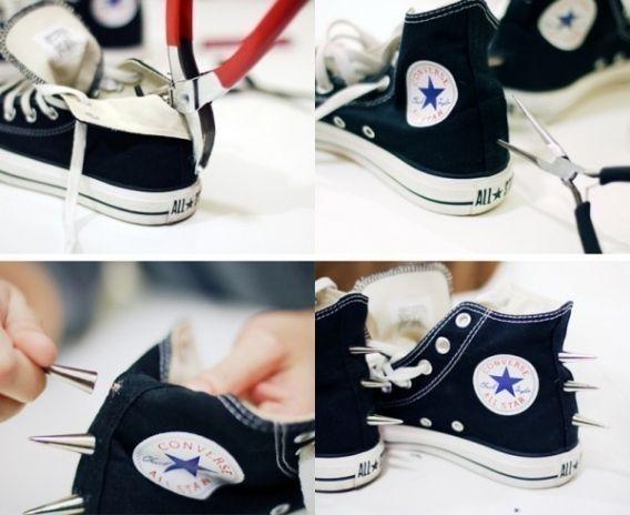 Zapatillas al estilo punk