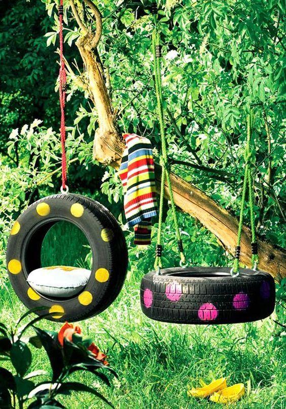 Ingeniosas formas de reciclar y reutilizar neumáticos