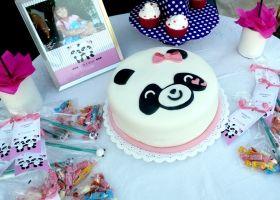 Un cumpleaños con tiernos panditas para Emilia