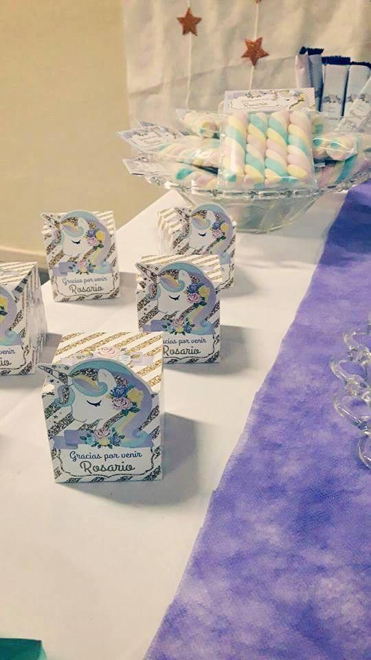 Decoraciones de Unicornio para imprimir