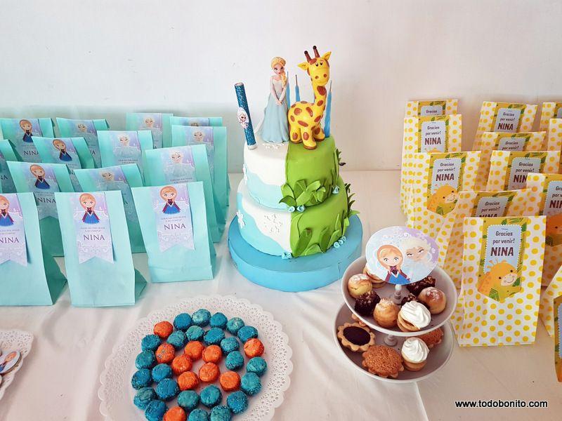 Cumpleaños de Frozen y Jirafas