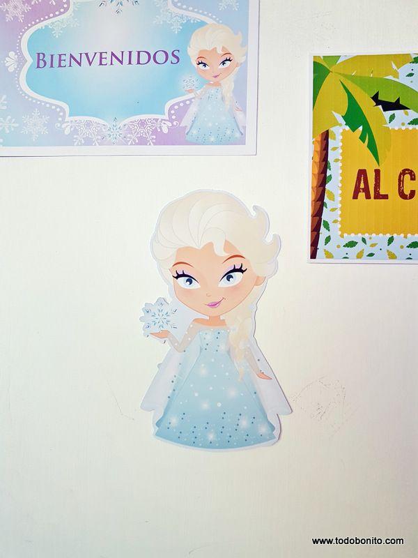 Imagenes de Elsa decoracion de cumpleaños
