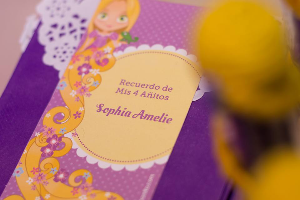 Kit imprimible de Rapunzel