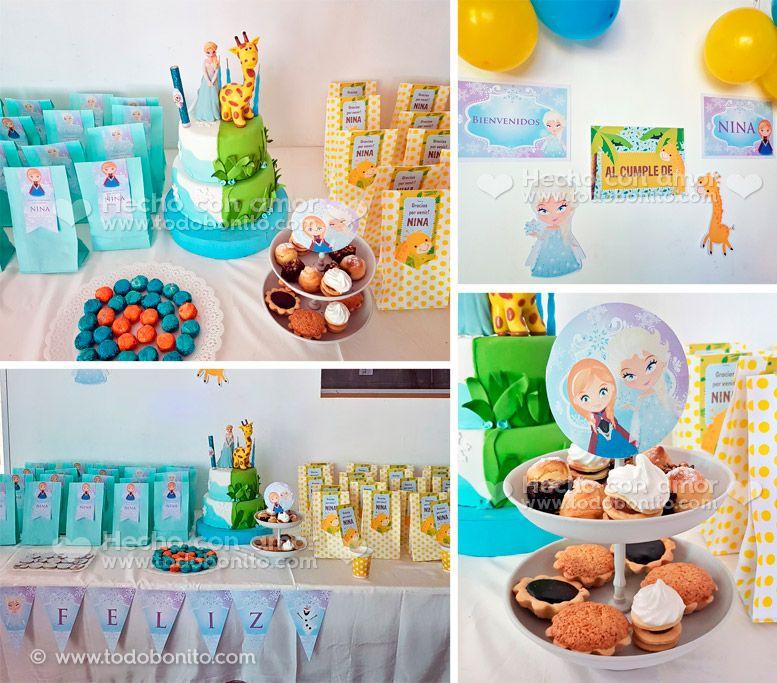Cumpleaños de Frozen original