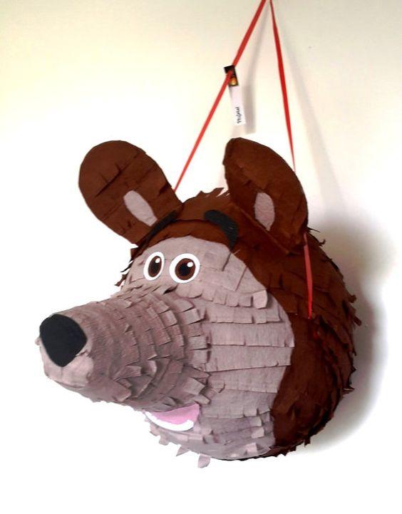 Ideas para decorar de Masha y el oso