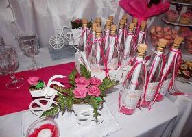 Los 15 de Mili en Shabby Chic rosa