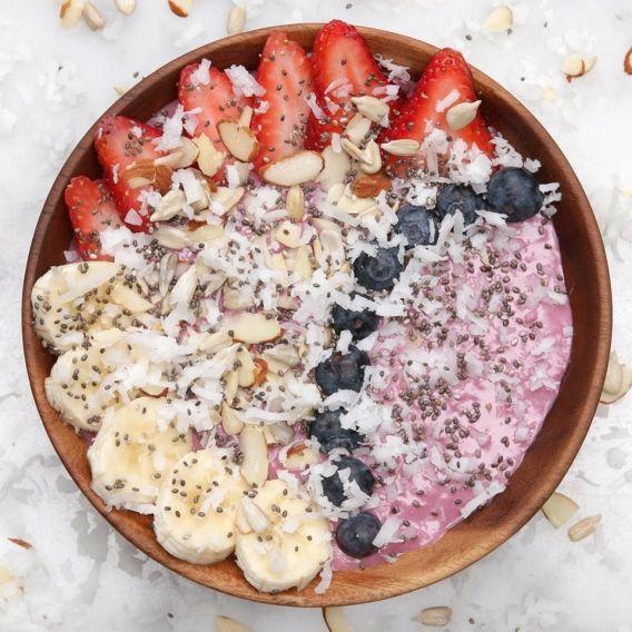 Frutal Smoothie de desayuno