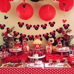 Cumpleaños temática de Minnie para Josefa