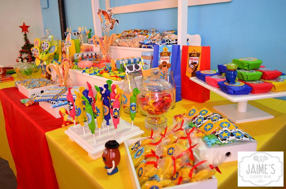 Candy Bar de Toy Story