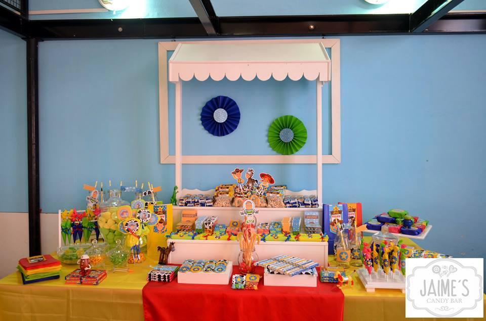Decoraciones cumpleaños de Toy Story