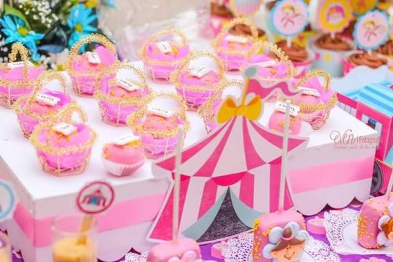 Kit Decoración Circo de niñas