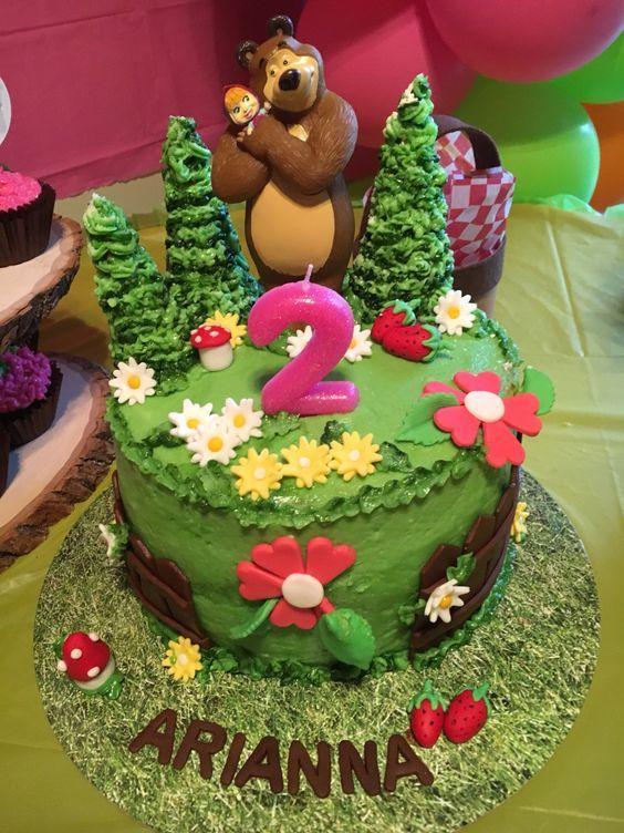 Las más lindas tortas de Masha y el Oso
