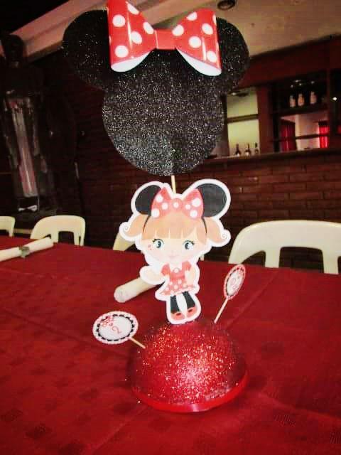 Kit imprimible Orejas Minnie rojo por Todo Bonito