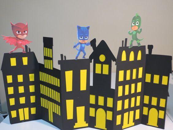 Las más lindas ideas para decorar con la temática de PJ Mask