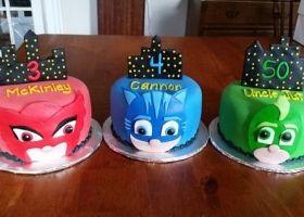 Las 15 mejores tortas de PJ Masks para tu fiesta
