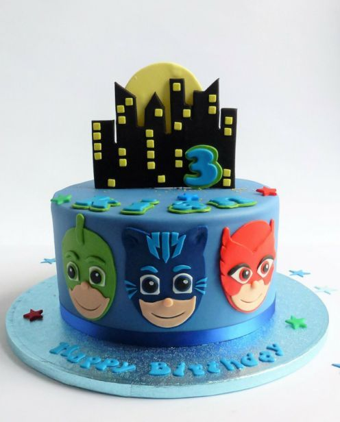 Torta de Pj Masks
