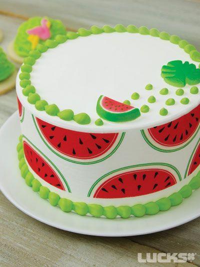 Modelos de tortas de Sandias ¡Las más lindas!
