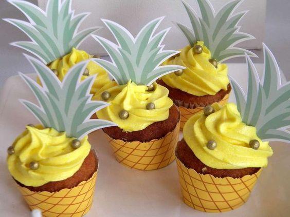 Ideas para decoración de flamencos y ananás