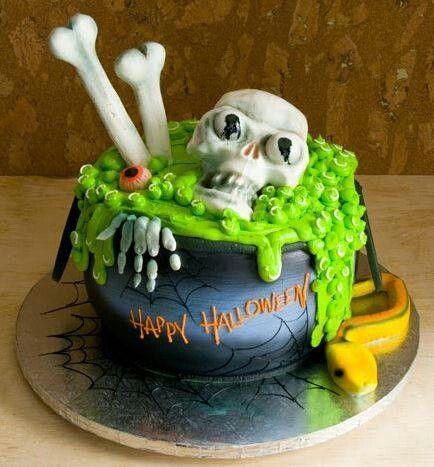 Increíbles tortas terroríficas para Halloween