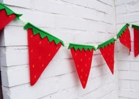 Ideas para decorar tu fiesta con frutillas