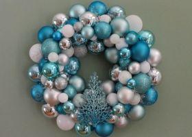 Decoraciones de Navidad en Turquesa