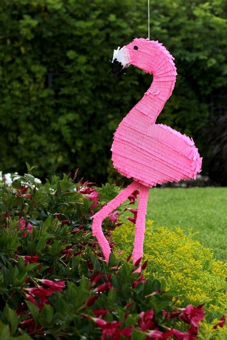 Ideas para decorar con flamencos y ananás