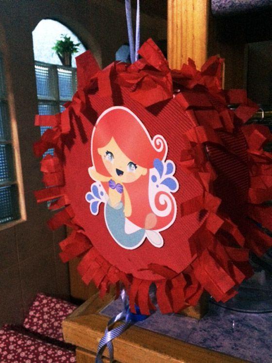 Piñata de la Sienita para imprimir