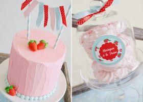 Los más lindos modelos de tortas con la temática frutillas