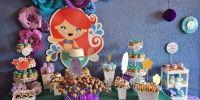 Florencia festejó su cumple junto a la Sirenita