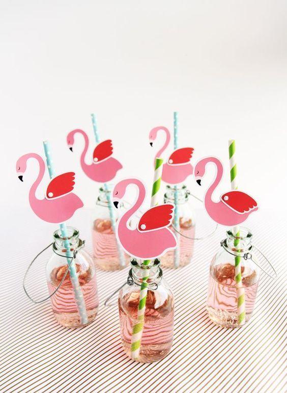 Ideas para decorar con flamencos y ananás