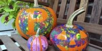Creativas calabazas para decorar en Halloween