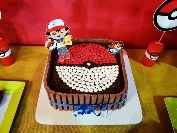 El cumpleaños de Luca con Pokémon
