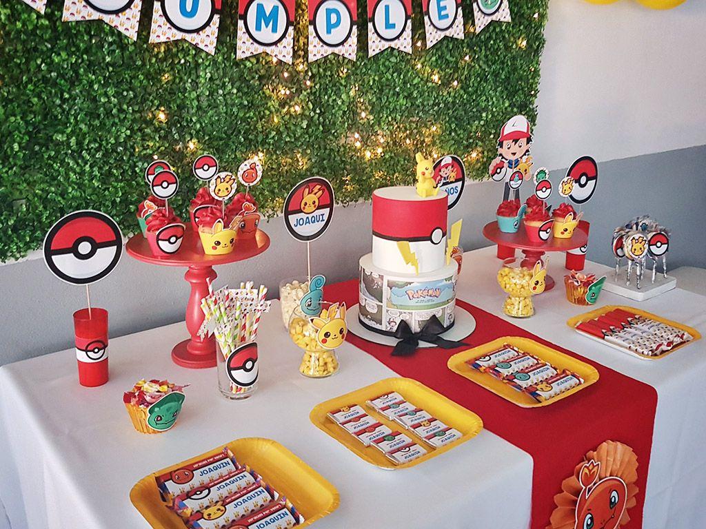 Ideas fiesta de Pokémon