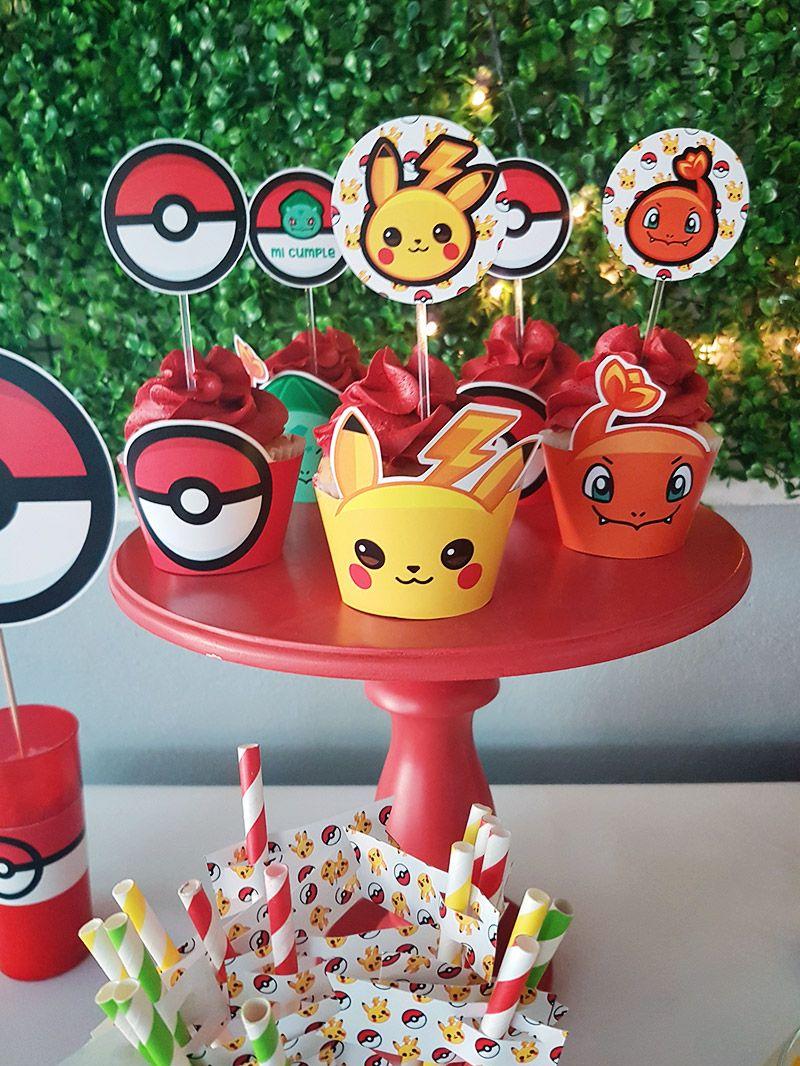Wrappers y Toppers de Pokémon