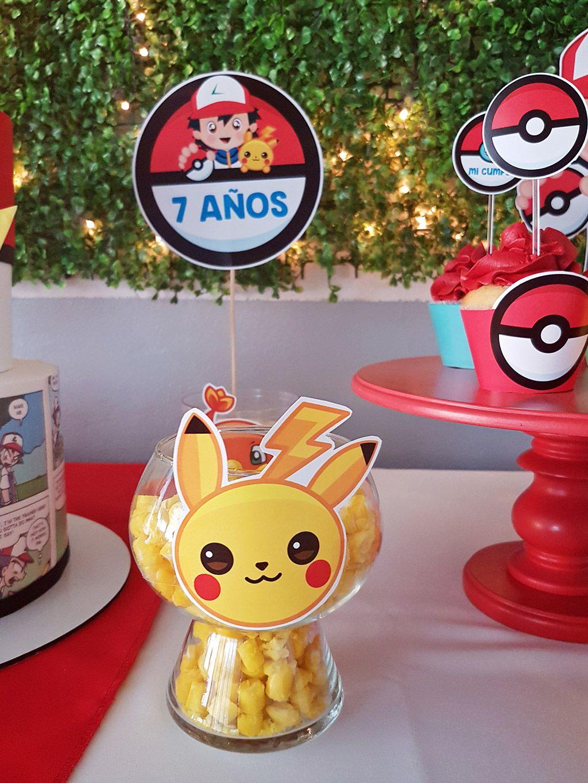 Centros de mesa de Pokémon