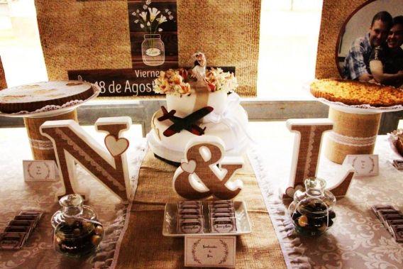 Una boda soñada con estilo rústico para Lucas y Nati
