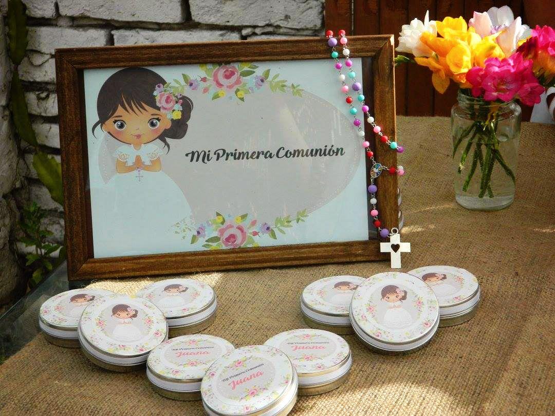 Souvenirs de Primera Comunión para niñas estilo rústico por Todo Bonito