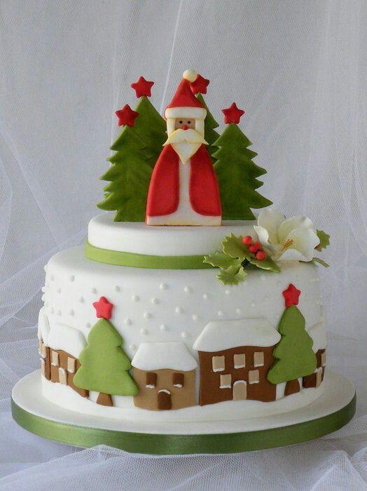 Originales tortas navideñas