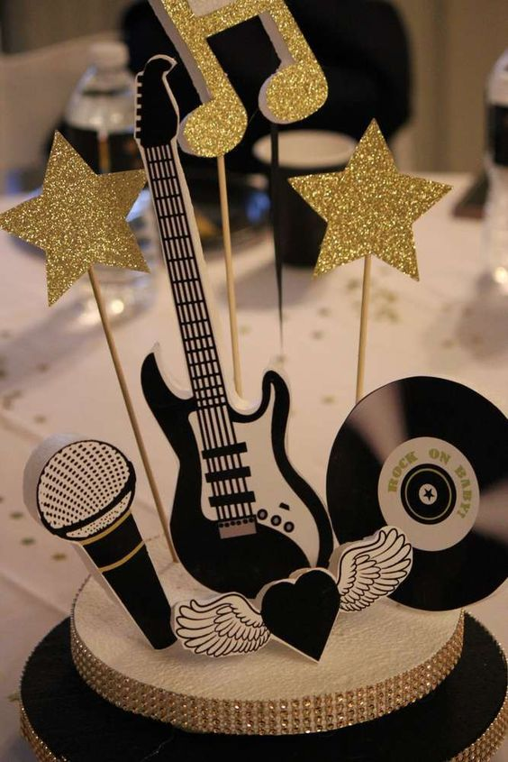Ideas Para Una Fiesta A Puro Rock And Roll Todo Bonito