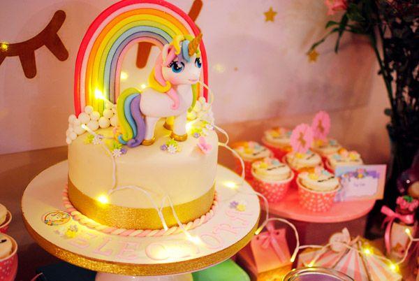 Torta de Unicornios