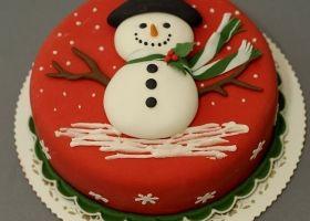 Tortas navideñas, ¡las más lindas!