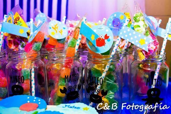 El cumpleaños de Mateo en el Mar