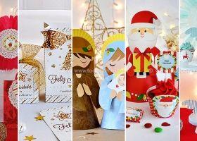 Kits imprimibles de Navidad por Todo Bonito