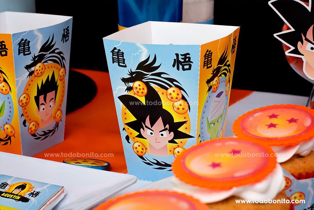 Cajitas del Kits Imprimibles de Dragon Ball