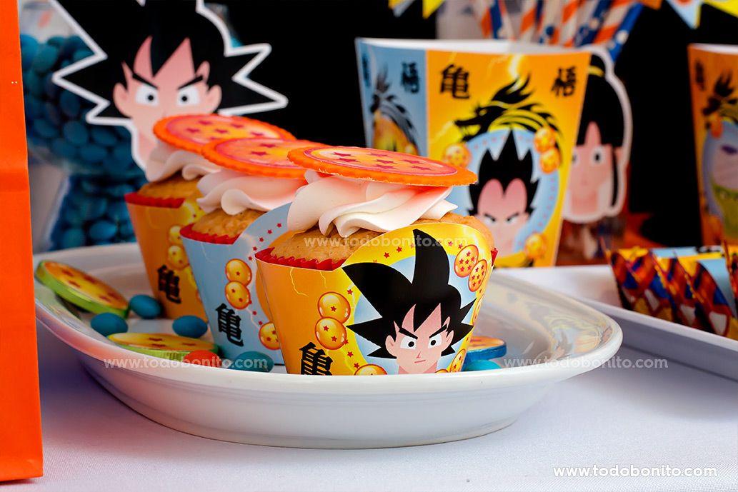 Decoración con el Kit Imprimible de Dragon Ball