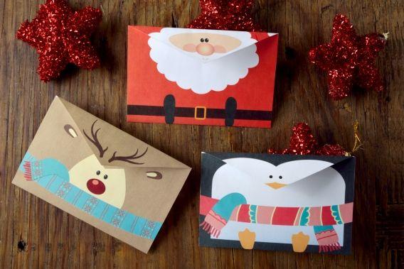 Hermosas tarjetas navideñas para imprimir gratis