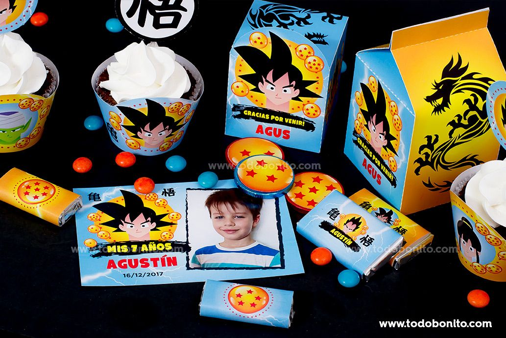 Kits Imprimibles de Dragon Ball